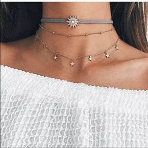 🎉5 for $25🎉 Celestial Chocker Necklace